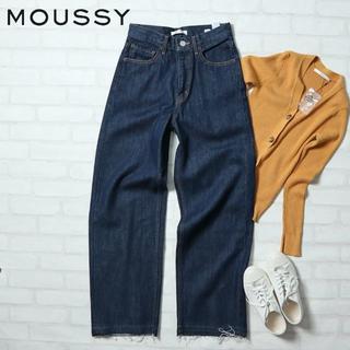 マウジー(moussy)のMOUSSY 定価¥11,880 WIDE LEG DENIM インディゴ(デニム/ジーンズ)