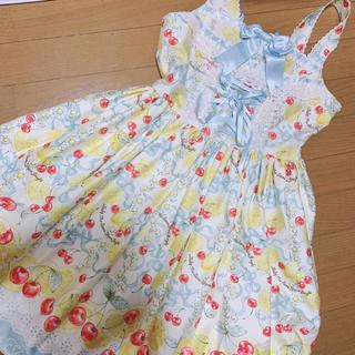 BABY,THE STARS SHINE BRIGHT - BABY cheer ful Lemon柄 I型 jsk