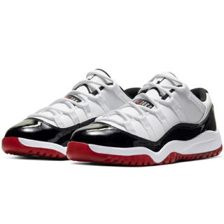 NIKE - 【新品未使用】NIKE AIR JORDAN11 LOW PS GYM RED