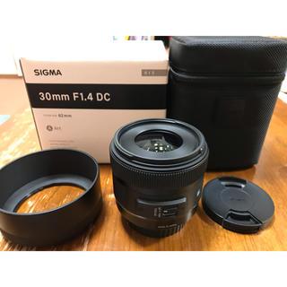 SIGMA - SIGMA 30mm F1.4 DC HSM |Art [Canonマウント]