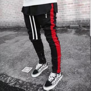 フィアオブゴッド(FEAR OF GOD)の新品未使用超人気カラーFOGタイプ裾ジップサイドライントラックジャージパンツ(その他)