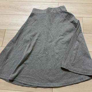 ローリーズファーム(LOWRYS FARM)の【LOWRYS FARM】Mサイズ膝丈スカート グレー(ひざ丈スカート)