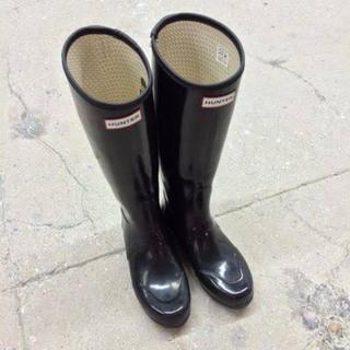 ハンター(HUNTER)のHUNTER レインブーツ UK6(レインブーツ/長靴)
