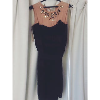 エイチアンドエム(H&M)のLANVIN H&M ランバンエイチ&エム ドレス ワンピース(ミニワンピース)