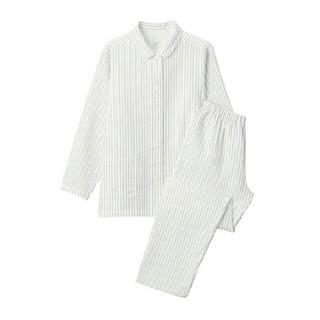MUJI (無印良品) - 新品 無印良品脇に縫い目のない二重ガーゼパジャマ