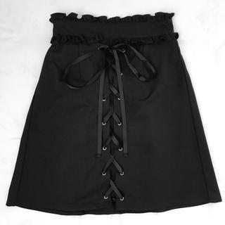 Ank Rouge - Ank Rouge 台形スカート(BLACK)