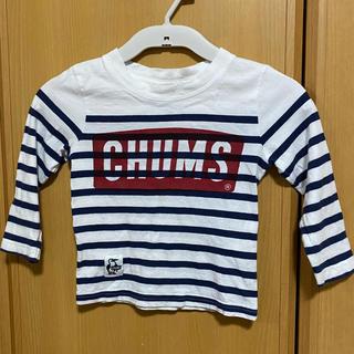 チャムス(CHUMS)のチャムス ロゴカットソー キッズ 七分袖(Tシャツ/カットソー)