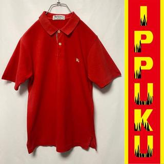 バーバリー(BURBERRY)の90年代 90s Burberrys バーバリーズ ポロシャツ 白タグ(ポロシャツ)