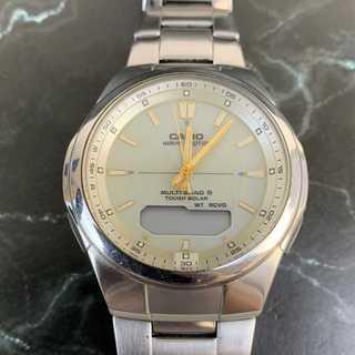 カシオ(CASIO)の☆特価セール☆ 【カシオ】 腕時計 WVA-M600 アナログ チタン ブランド(腕時計(アナログ))