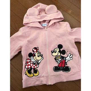 Disney - ディズニーリゾート 公式 パーカー サイズ90 女の子