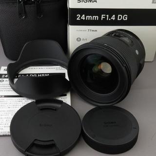 SIGMA - シグマ キヤノンEF用24mm F1.4DG