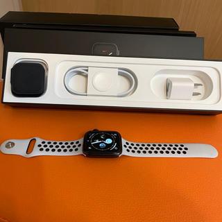 アップルウォッチ(Apple Watch)のApple Watch Series 5 44mm Nike GPS(腕時計(デジタル))