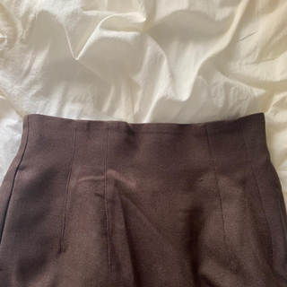 LOWRYS FARM - ブラウンスカート