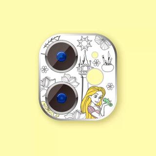 ラプンツェル(ラプンツェル)のiPhone11proカメラフィルムラプンツェルプリンセスレンズ保護ディズニー(iPhoneケース)