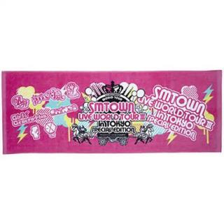 シャイニー(SHINee)のSMTOWN LIVE WORLDTOUR Ⅲ in TOKYOスポーツタオル(K-POP/アジア)