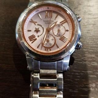 カシオ(CASIO)のSHEEN CASIO ソーラー電波腕時計(腕時計)