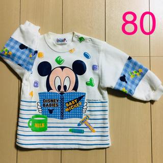Disney - ディズニー ミッキーマウス 長袖 トレーナー