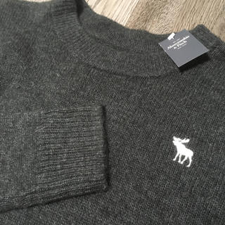 Abercrombie&Fitch - Abercrombie&Fitch 新品アバクロクルーネック ニットS送料込み!