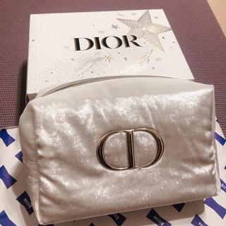 Dior - Dior コスメ ポーチ 2020 クリスマスコフレ ホワイト