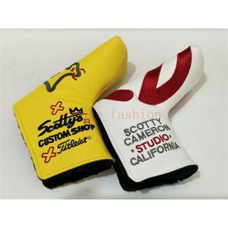 スコッティキャメロン(Scotty Cameron)のパターカバースコッティキャメロンツアーツアー支給2個セット 白Big-circl(その他)