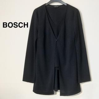 ボッシュ(BOSCH)の美品☆BOSCH アンサンブル/M/ネイビー(アンサンブル)