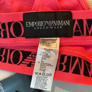 Emporio Armani - エンポリオアルマーニ レディースTバックショーツ