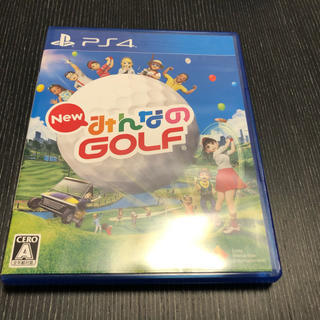 PlayStation4 - PS4 New みんなのGOLF