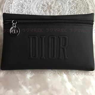 Christian Dior - 【新品未開封】ディオール ブラック マット フラット スマートポーチ 国外限定