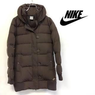 NIKE - NIKEダウンジャケット ナイキロングコート レディースLサイズ