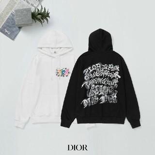 Dior - 【二枚11800円送料込み】DIOR ロゴ プリント パーカー