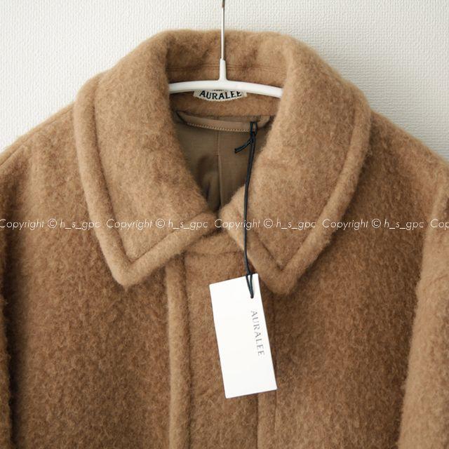 1LDK SELECT(ワンエルディーケーセレクト)のオーラリー ベイビーキャメル メルトン ブルゾン ジャケット オーバーサイズ メンズのジャケット/アウター(ブルゾン)の商品写真