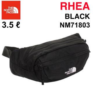 ザノースフェイス(THE NORTH FACE)のノースフェイス ウエストバッグ RHEA リーア NM71803 ブラック 新品(ボディバッグ/ウエストポーチ)