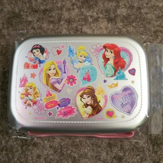 Disney - プリンセス アルミ お弁当箱