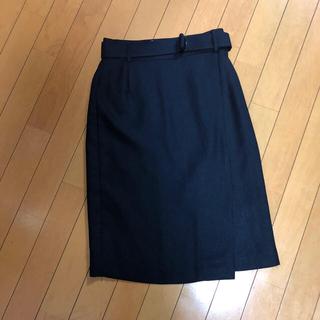 ボッシュ(BOSCH)のネイビースカート(ひざ丈スカート)