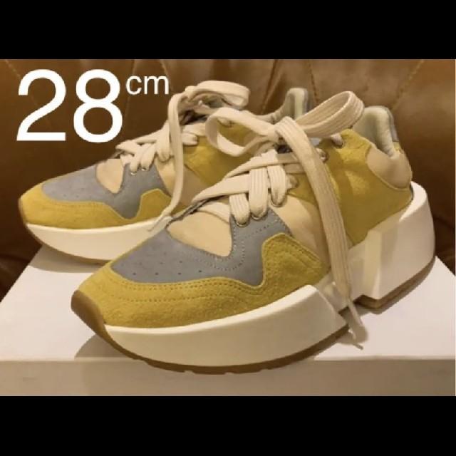 Maison Martin Margiela(マルタンマルジェラ)のMM6 Maison Margiela 新品未使用 ランナーレザースニーカー メンズの靴/シューズ(スニーカー)の商品写真