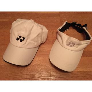 ヨネックス(YONEX)のヨネックス サンバイザー テニス スポーツ 日除け 帽子 キャップ yonex(キャップ)