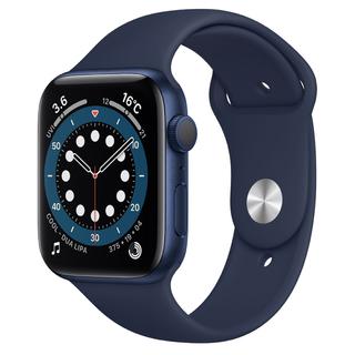 アップルウォッチ(Apple Watch)のApple watch6(アップルウォッチ6) 44mm セルラーモデル 本体(腕時計(デジタル))