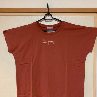 サマンサモスモス(SM2)の★新品★サマンサモスモス ロゴ刺繍Tシャツ(Tシャツ(半袖/袖なし))