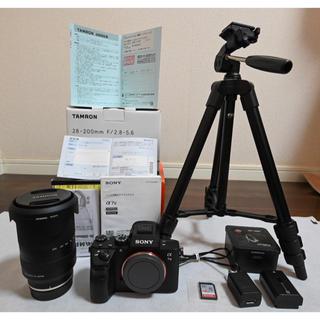 SONY - 【美品】α7III +大人気レンズ tamron 28-200 レンズ保証残あり