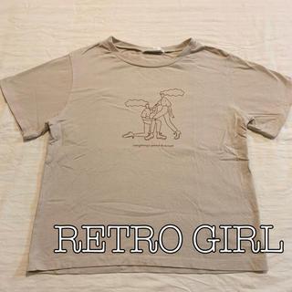 レトロガール(RETRO GIRL)の[美品]rétro  girl Tシャツ(Tシャツ(半袖/袖なし))