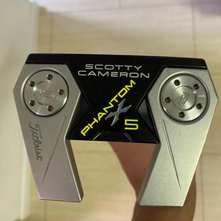 スコッティキャメロン(Scotty Cameron)のスコッティキャメロン ファントムX5 34インチ 日本仕様(クラブ)