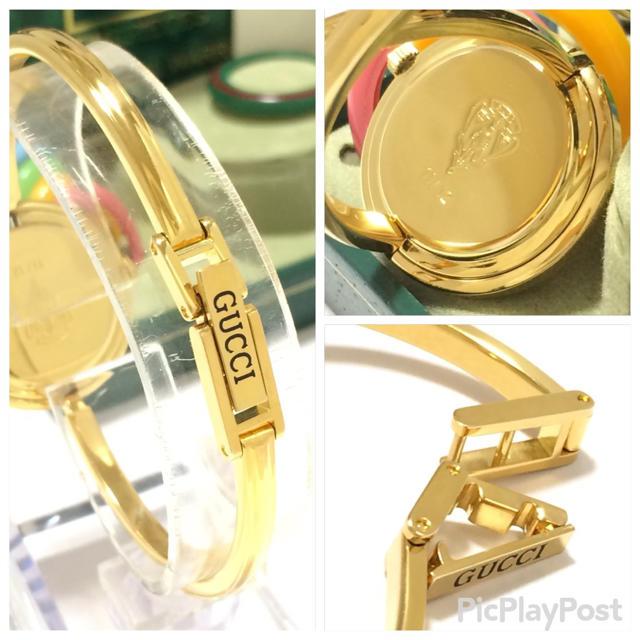 Gucci(グッチ)の7.超美品 グッチ GUCCI 時計 チェンジベゼル レディースのファッション小物(腕時計)の商品写真