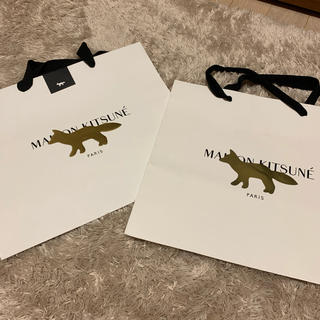 メゾンキツネ(MAISON KITSUNE')のメゾンキツネ MAISON KITSUNE ショップ袋 ショップバッグ(ショップ袋)