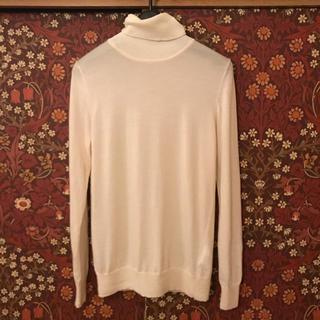 ムジルシリョウヒン(MUJI (無印良品))の【MUJI】タートルネックセーター Mサイズ(ニット/セーター)