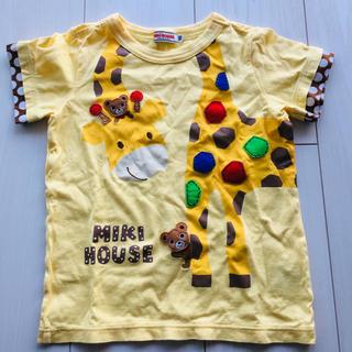 mikihouse - ミキハウス キリン Tシャツ