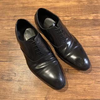 スーツカンパニー(THE SUIT COMPANY)のTHE SUIT COMPANY 革靴 黒 25.5cm(ドレス/ビジネス)
