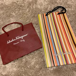 ポールスミス(Paul Smith)のフェラガモ ポールスミス ショップバッグ ショップ袋(ショップ袋)
