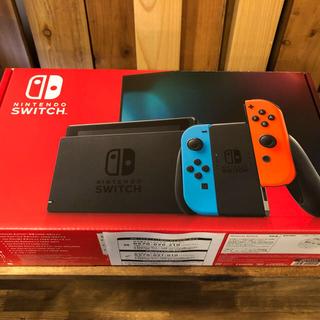Nintendo Switch - 未使用 新品 ニンテンドースイッチ 新モデル Nブルー Nレッド 本体