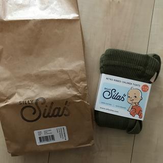 Caramel baby&child  - sillysilas タイツ オリーブ 6-12m