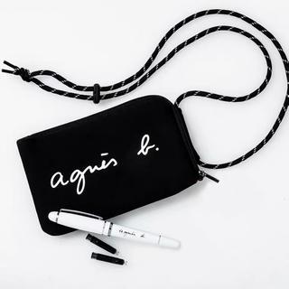 agnes b. - アニエスベー付録 マルチケース ショルダーバッグ 新品未使用